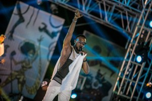 D'banj on the #HeinekenGidiFest stage