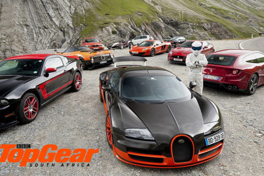 BBC TOP GEAR MAGAZINE HAS REFUELED & READY TO GO
