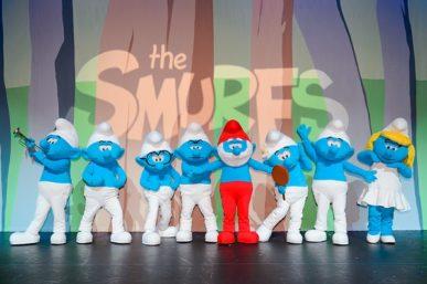 THE SMURFS LIVE ON SA STAGE