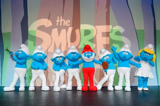 THE SMURFS LIVE ON SA STAGE
