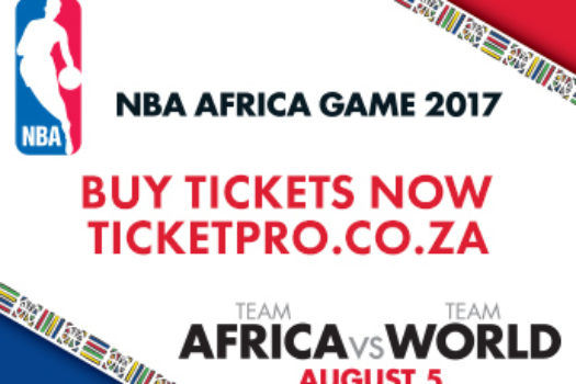 GET YOUR NBA AFRICA GAME TIX NOW TO AVOID DISAPPOINTMENT
