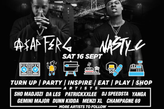 A$AP FERG & NASTY C TO HEADLINE FIRST ANNUAL CAPSULE FEST