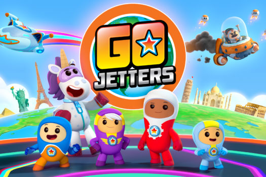 CBEEBIES LAUNCH PRE SCHOOL HIT GO JETTERS ON YOUTUBE