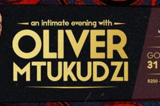 OLIVIER MTUKUDZI OUT AT GOLD REEF CITY THIS WEEKEND