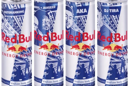 SPOTTED YOUR FAVOURITE ARTIST ON A RED BULL CAN?