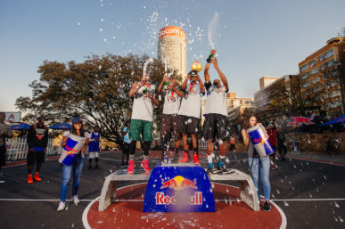 RED BULL REIGN CROWNS THREE-ON-THREE STREETBALL KINGS