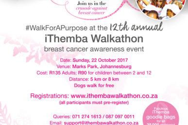 COUNTDOWN TO THE ANNUAL ITHEMBA WALKATHON