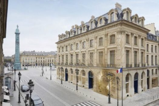 LOUIS VUITTON OPENS THE MAISON VUITTON VENDROME TODAY