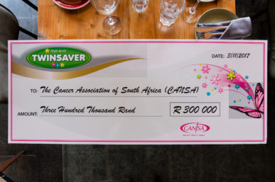 TWINSAVER RAISES R300 000 WITH SPECIAL EDITION PACK