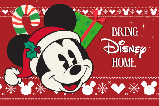 WIN WIN WIN. BRING DISNEY HOME THIS FESTIVE SEASON