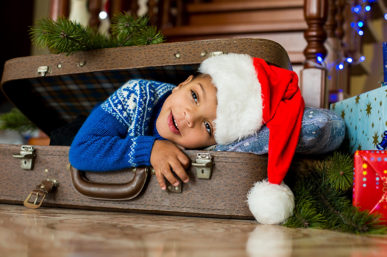 THE INS AND OUTS OF THE TRAVELLING FESTIVE BABY