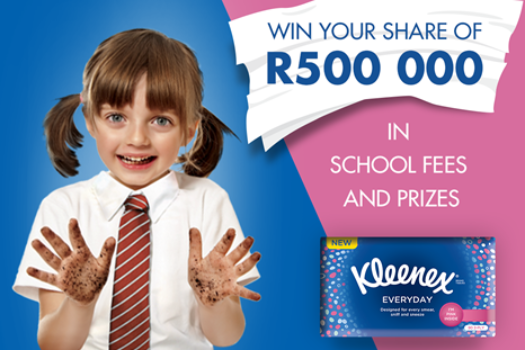 KLEENEX HELPS YOU AND YOUR KIDS GET BACK TO SCHOOL