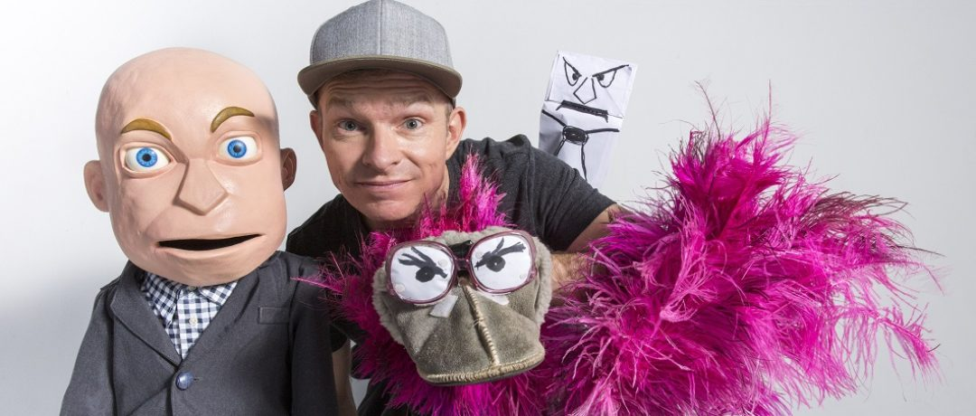 PUPPET MAYHEM COMES TO MONTECASINO WITH CONRAD KOCH