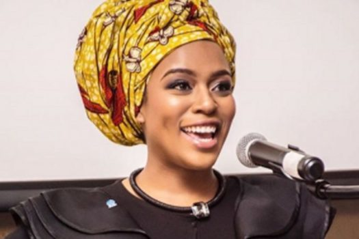 NOMZAMO MBATHA ON A UNITED NATIONS MISSION IN KENYA
