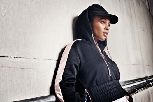 NOMZAMO MBATHA OUT IN NYC FOR PUMA EN POINTE COLLECTION