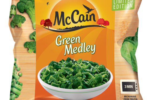 FOOD BRAND McCAIN LAUNCHES THE NEW GREEN MEDLEY MIX