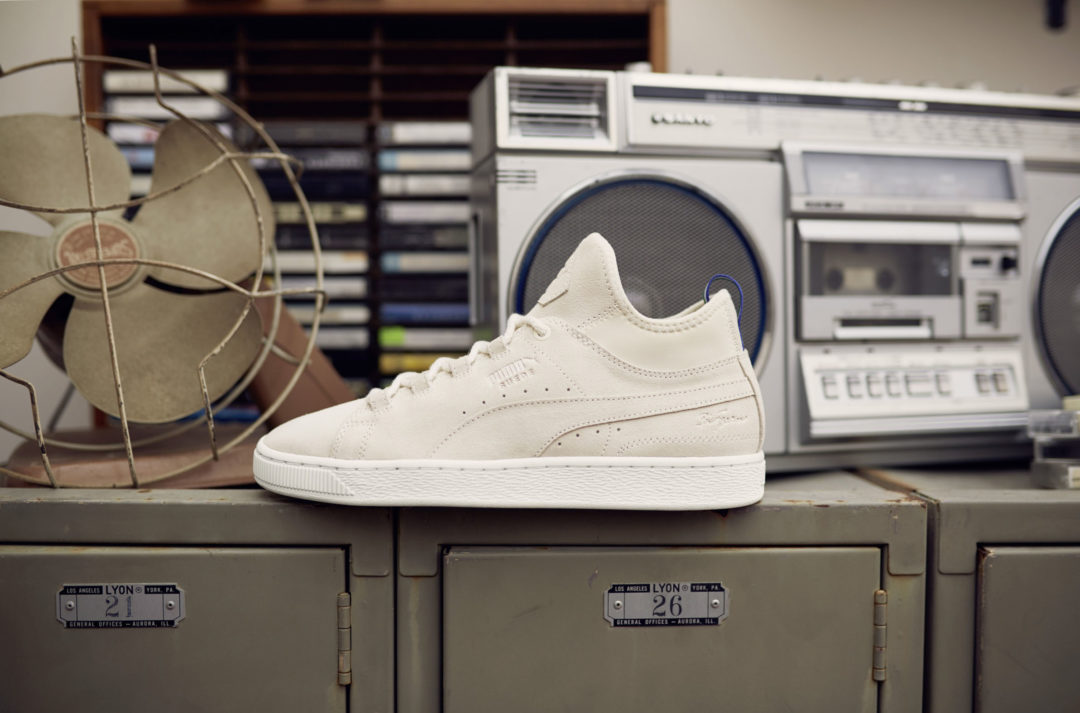 sports shoes bb54a c65b0 BIG 'SEAN' ANDERSON CELEBRATES 50 YEARS OF SUEDE WITH PUMA ...