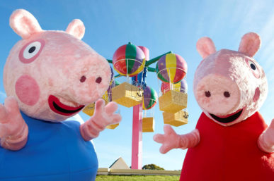 BREAKING NEWS: EXTRA PEPPA PIG LIVE FAMILY PACKAGES RELEASED