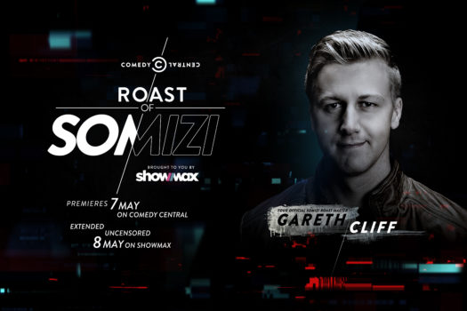 GARETH CLIFF TAKES THE REINS AS COMEDY CENTRAL ROAST MASTER