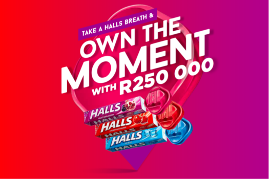 SOUTH AFRICAN OWNING THE MOMENT WITH HALLS