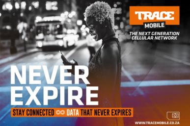 DATA THAT NEVER EXPIRES WITH NEW TRACE MOBILE OFFERING