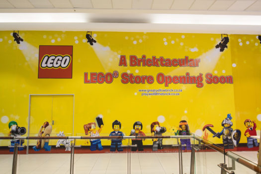 SANDTON CITY TO FLAGSHIP FIRST LEGO® CERTIFIED STORE!