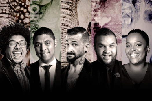 FIVE SA COMEDY GIANTS TOGETHER ON ONE STAGE FOR LAUGHS