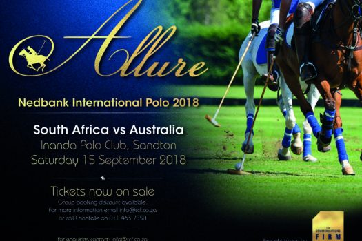 ALLURE IS BACK FOR THE NEDBANK INTERNATIONAL POLO