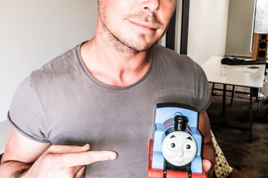 FULL STEAM AHEAD FOR BOBBY VAN JAARSVELD IN THOMAS & FRIENDS MOVIE