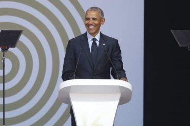 OBAMA CALLS ON THE WORLD TO BE MADIBA'S LEGACY