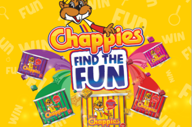 FIND THE FUN WITH CHAPPIES AND WIN WIN WIN