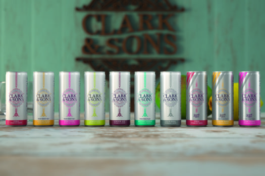 CLARK & SONS MIXER BRAND TAKES FLIGHT INTO THE MARKET