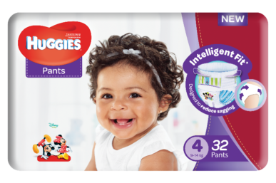 HUGGIES INTRODUCES NEW UNISEX NAPPIES WITH INTELLIGENT FIT