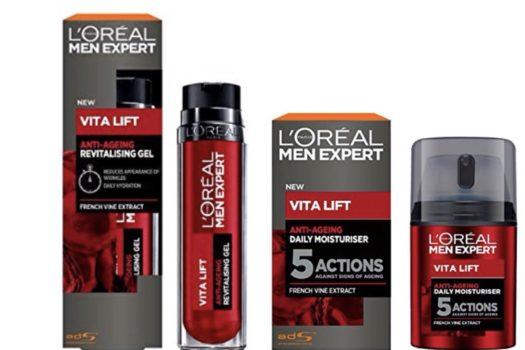 TIME TO REVIEW THE L'OREAL MEN EXPERT VITA LIFT RANGE