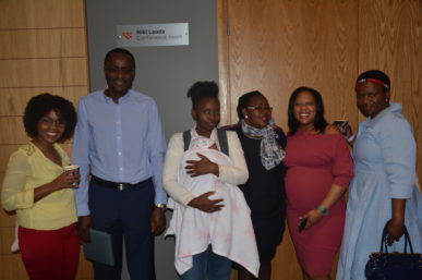 UNJANI CLINIC NURSES AT THE BABY MEET UP THIS WEEKEND