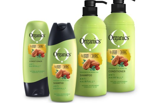 NO NEED TO LOSE ANY MORE HAIR WITH THE NEW ORGANICS RANGE