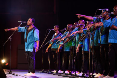 CATCH LADYSMITH BLACK MAMBAZO'S WORLD MUSIC FEST IN DECEMBER
