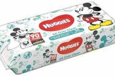 KEEP CLEAN AS HUGGIES CELEBRATE MICKEY 'S 90TH BIRTHDAY