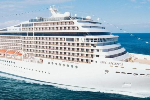 THE LUXURIOUS MSC MUSICA FINALLY ARRIVES IN SOUTH AFRICA
