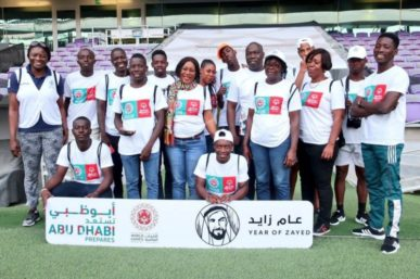 THE AFRICA REGION TO REPRESENT AT THE SPECIAL OLYMPICS