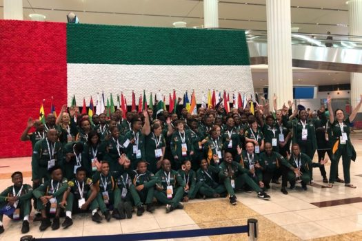 SPECIAL OLYMPICS SOUTH AFRICA TEAM DOES US PROUD
