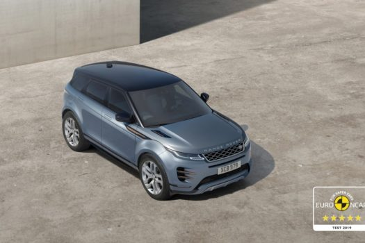 NEW RANGER EVOQUE AWARDED MAXIMUM SAFETY RATING
