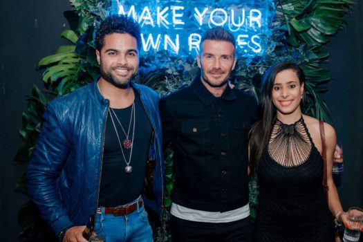 DAVID BECKMAN HOSTS HAIG PARTY WITH NATAAL MAGAZINE