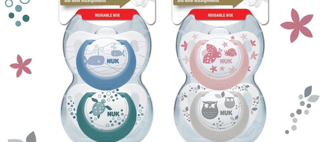 NUK'S GENIUS COLOUR SILICONE SOOTHER GOT US THROUGH THE PAIN
