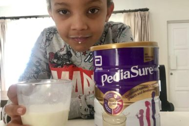 FINDING A SOLUTION FOR HEALTHY CHILD GROWTH WITH PEDISURE