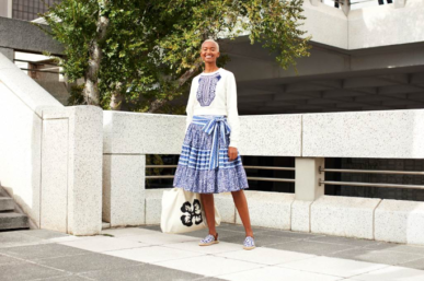 H&M'S FIRST AFRICAN  DESIGNER COLLABO WITH MANTSHO HAS ARRIVED