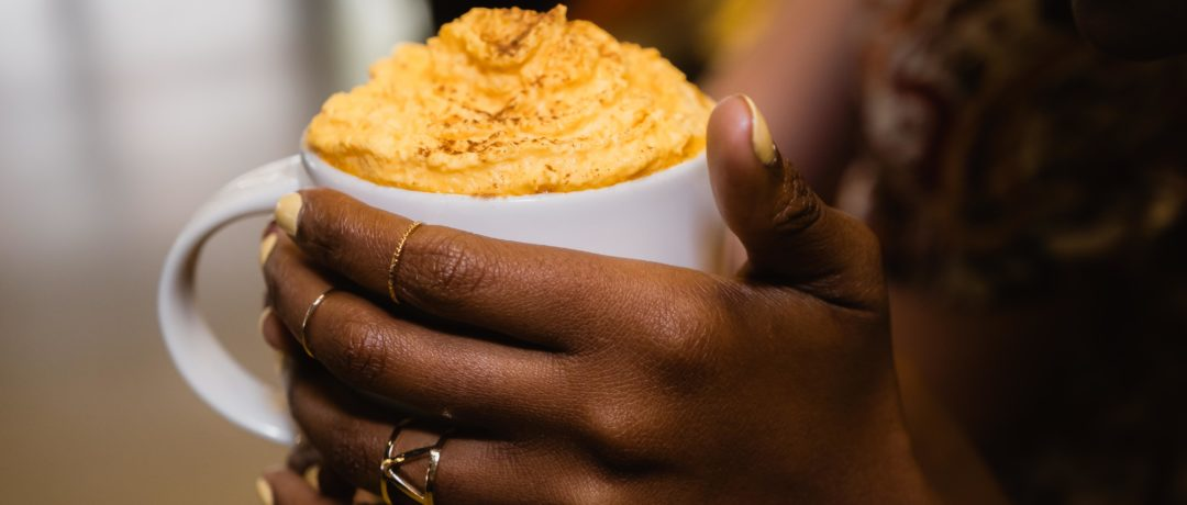 THE STARBUCKS' PUMPKIN SPICE IS BACK THIS SPRING