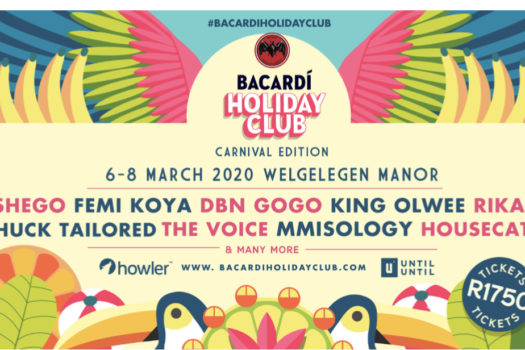 THE BACARDI HOLIDAY CLUB ANNOUNCES 1ST ACTS ON LINE-UP
