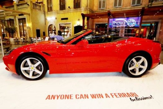 ANYONE CAN WIN A FERRARI VALUED AT OVER R3.5 MILLION