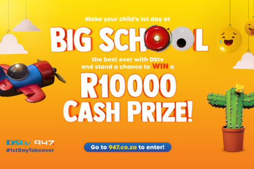 DStv PARTNERS WITH 94.7 TO MAKE 1ST DAY OF SCHOOL FUN!